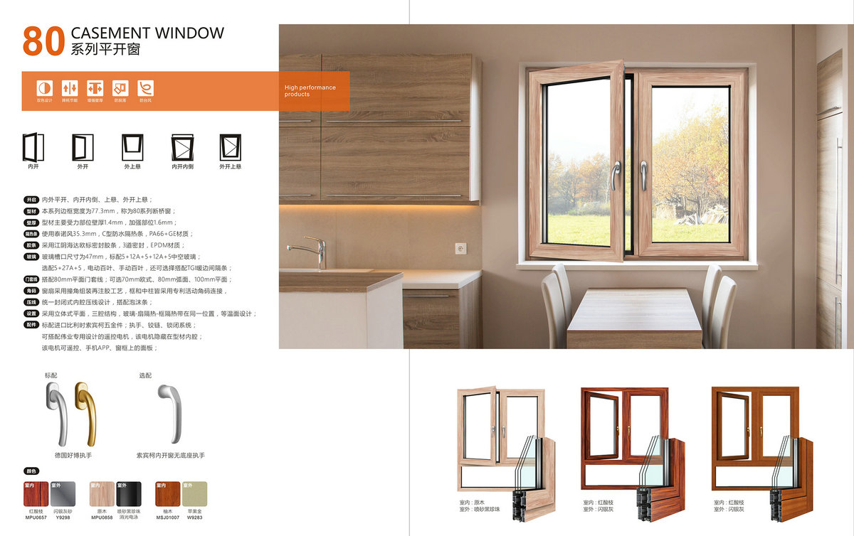 80 CASEMENT WINDOW