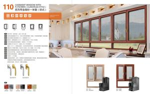 110 CASEMENT WINDOW WITH FLYSCREEN(EUROPEAN STYLE)